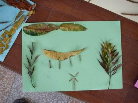 音谱儿童画-看似简单的排列,小朋友都可以说出它的意思   以下是小朋友的自然创